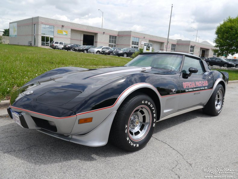 1978 chevrolet corvette pace car