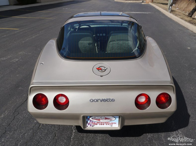 1982 chevrolet corvette collector edition