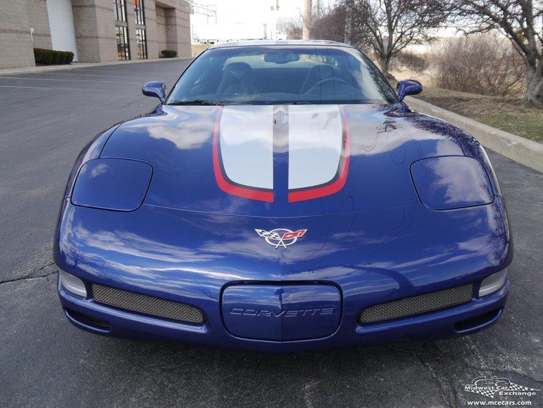 2004 chevrolet corvette commemorative edition zo6