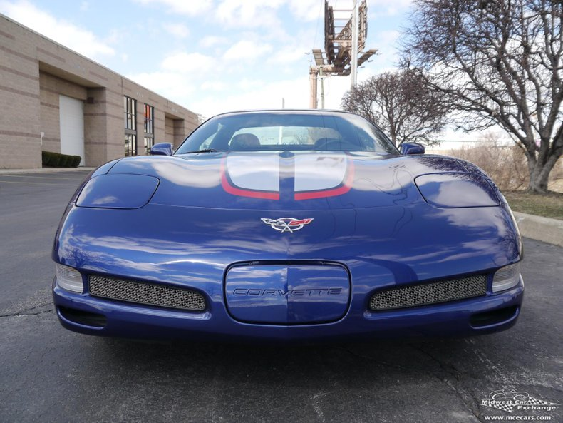 2004 chevrolet corvette commemorative edition zo6