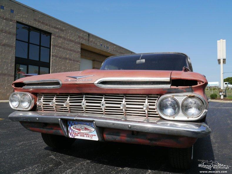 1959 chevrolet impala sedan 4 door