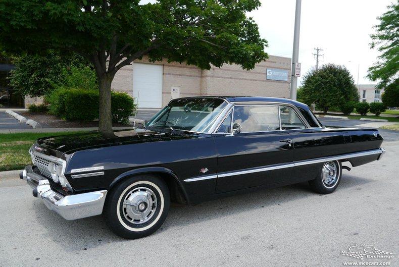 1963 chevrolet impala ss super sport