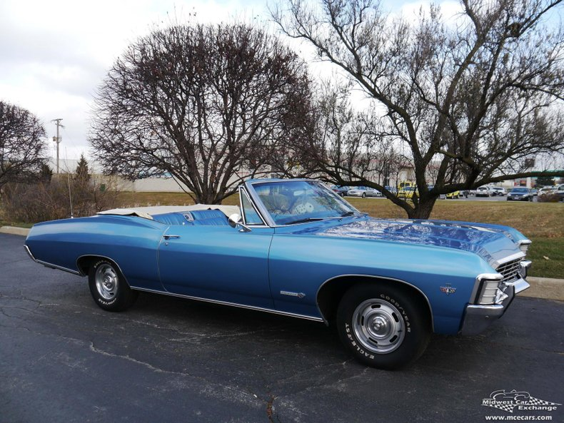 1967 Chevrolet Impala SS | Midwest Car Exchange