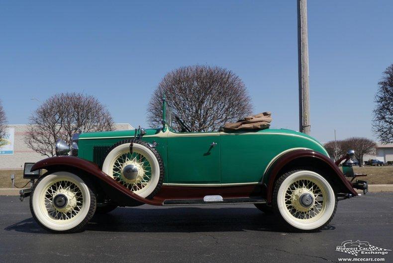 1931 chevrolet independence roadster