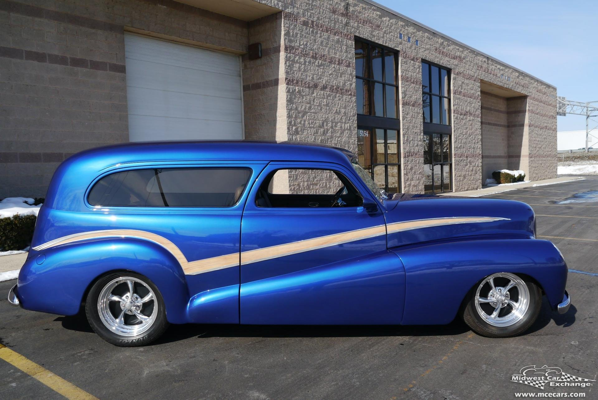 1948 chevrolet sedan delivery custom
