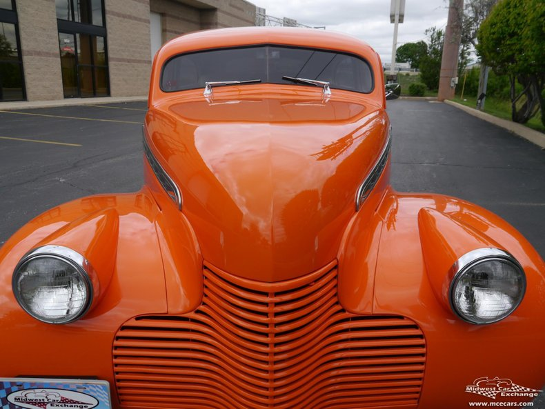 1940 chevrolet special deluxe 2 door sedan street rod