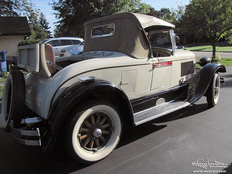 1926 chrysler g 70 roadster