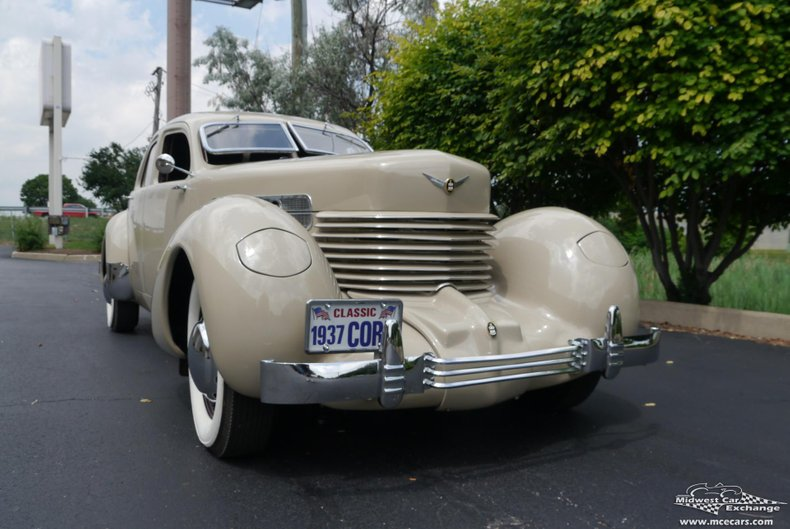 1937 cord beverly 812 sc