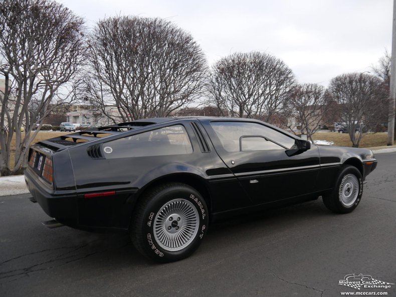 1982 delorean dmc 12
