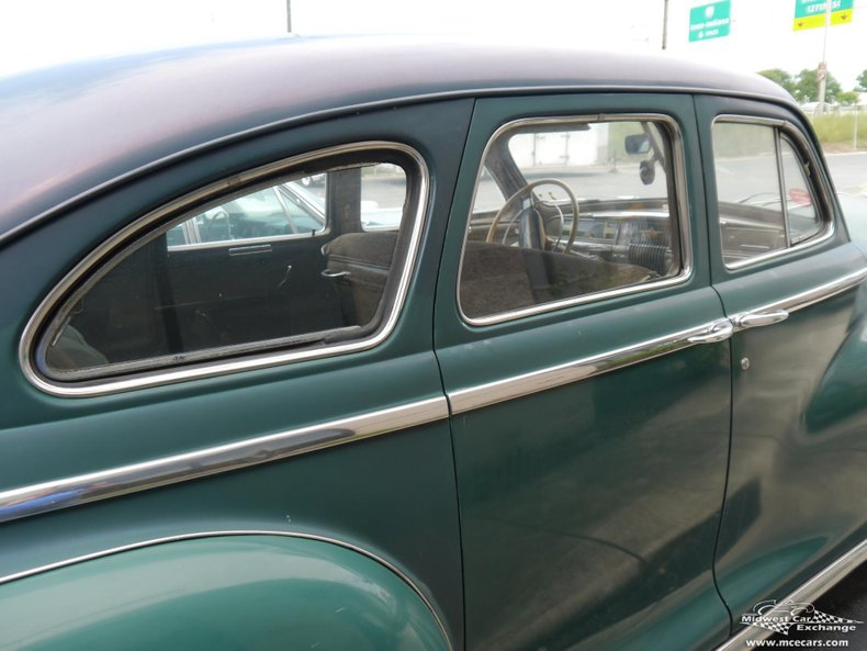 1946 desoto custom 4 door sedan