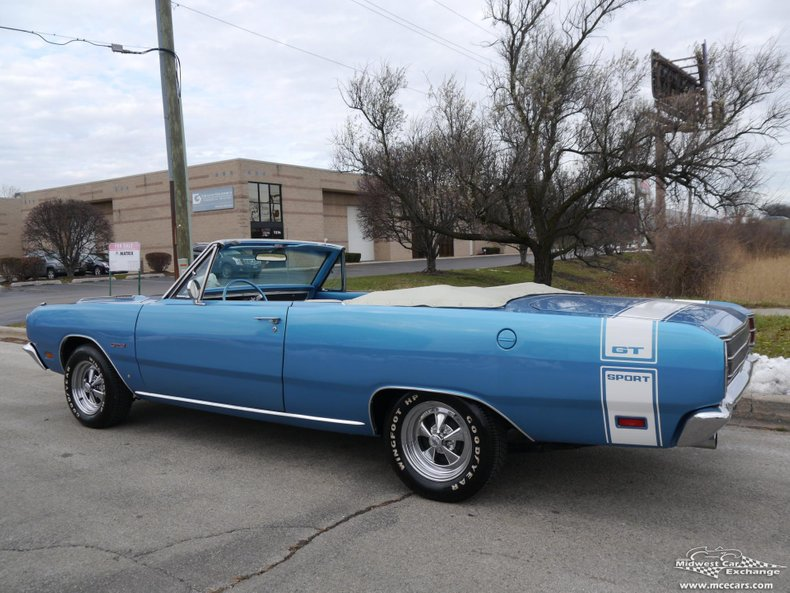 1969 dodge dart gts convertible