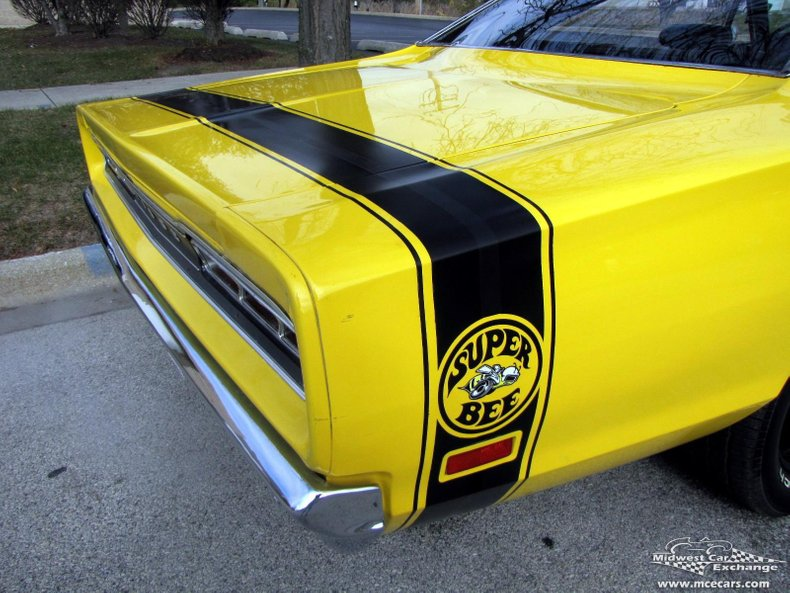 1969 dodge super bee 2 door hard top