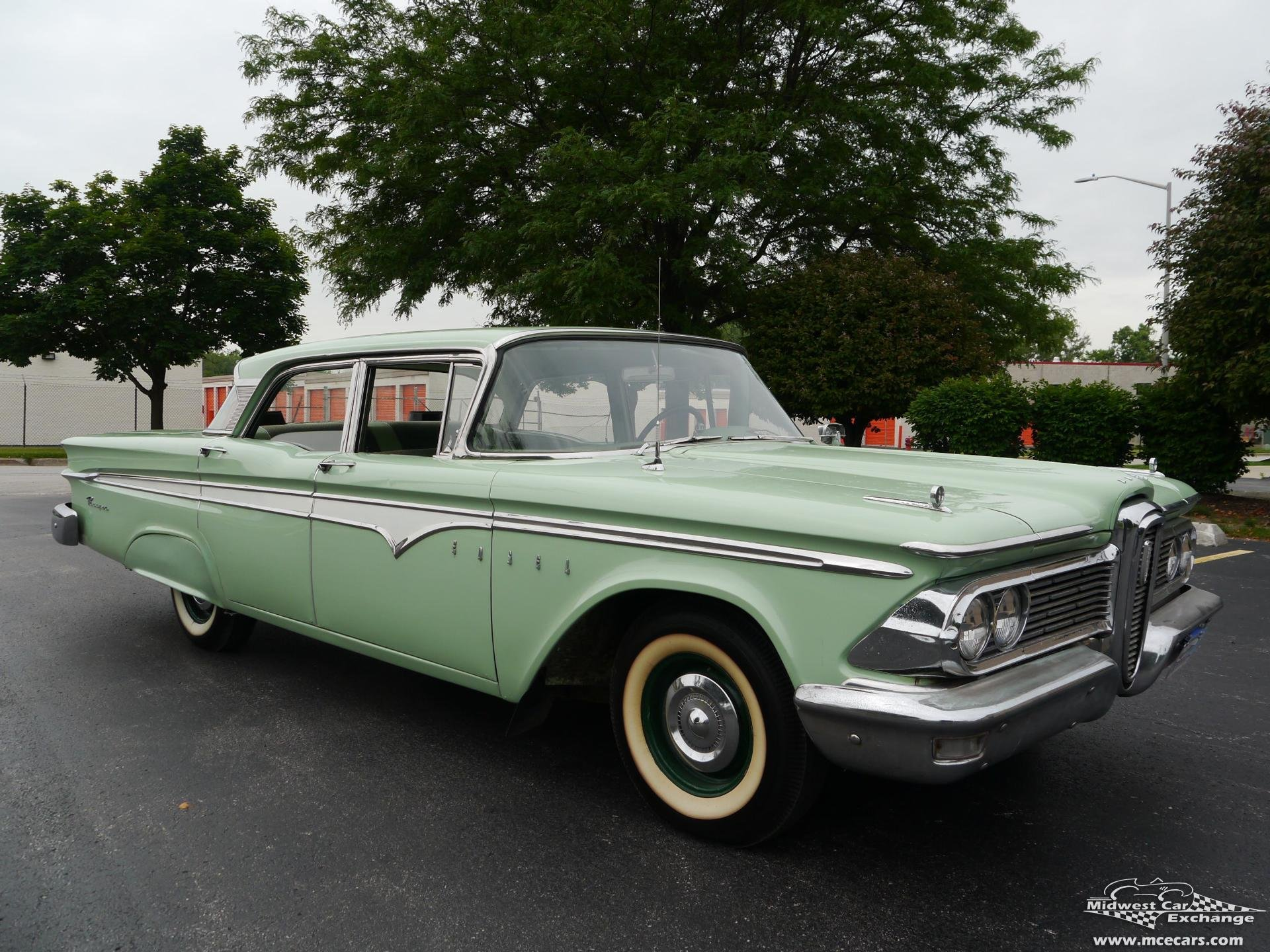 1959 edsel ranger 4 door sedan