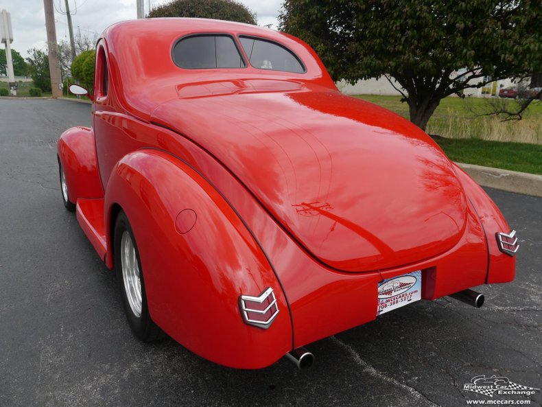 1940 ford coupe street rod