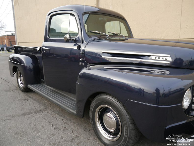 1950 ford f 1 pick up 1 2 ton street rod