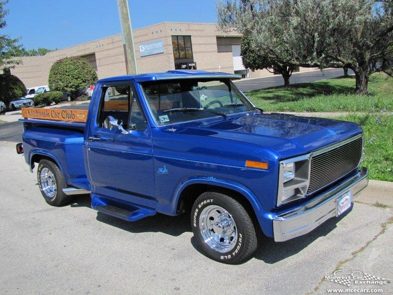 1983 ford f 150 pick up custom