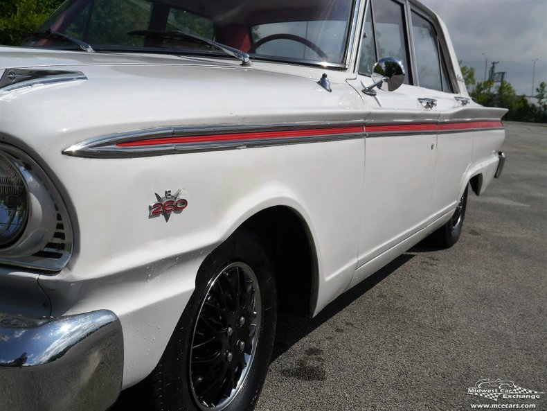 1963 ford fairlane 500 4 door sedan