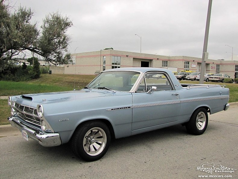 1967 ford fairlane ranchero