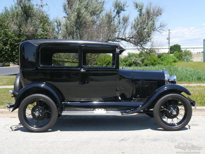1929 ford model a tudor