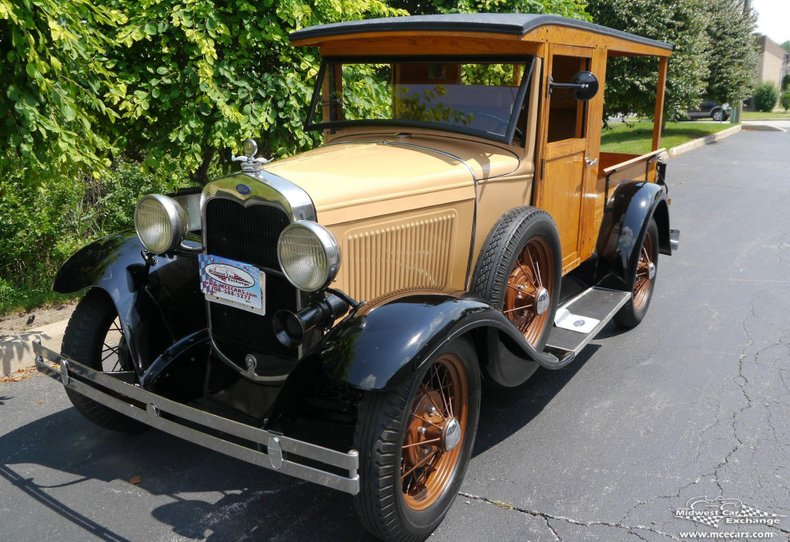 1930 ford model a huckster wagon pickup