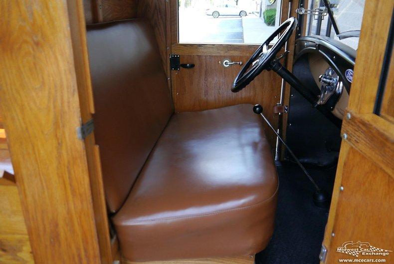 1930 ford model a huckster wagon pickup