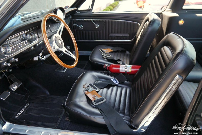 1965 ford mustang fastback w shelby gt350 appointments