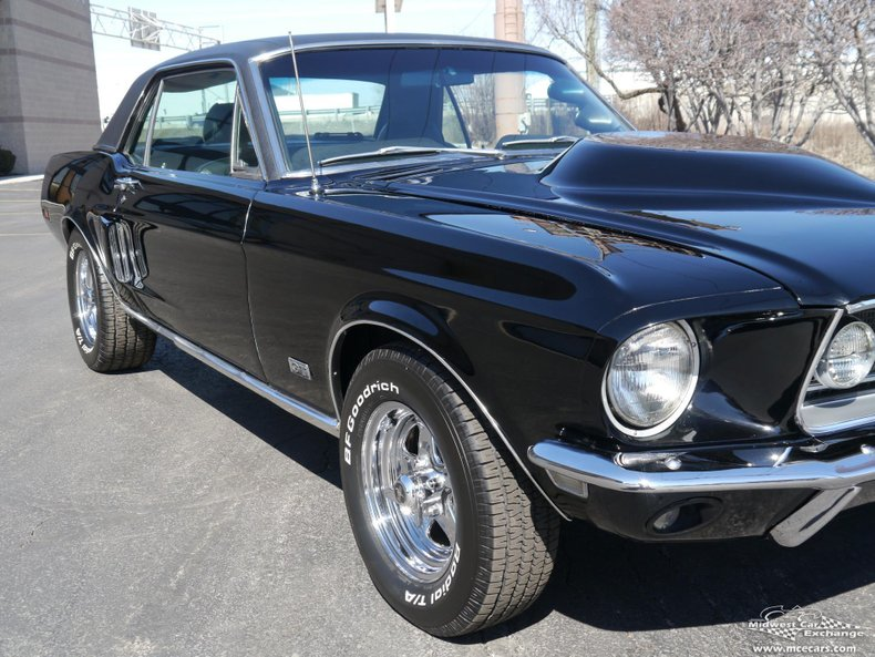 1968 ford mustang with gt appointments