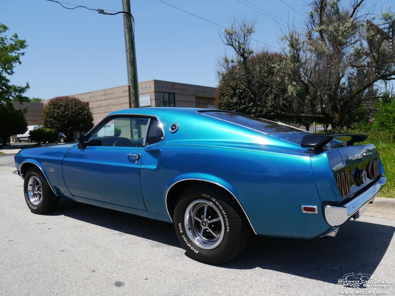1969 ford mustang sportsroof fastback