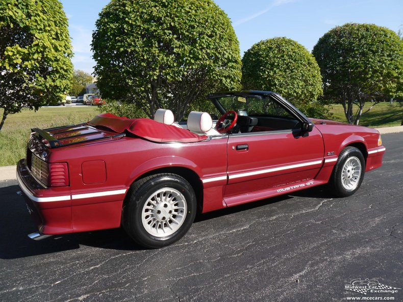 1989 ford mustang gt convertible
