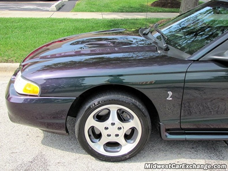 1996 ford mustang cobra svt mystic