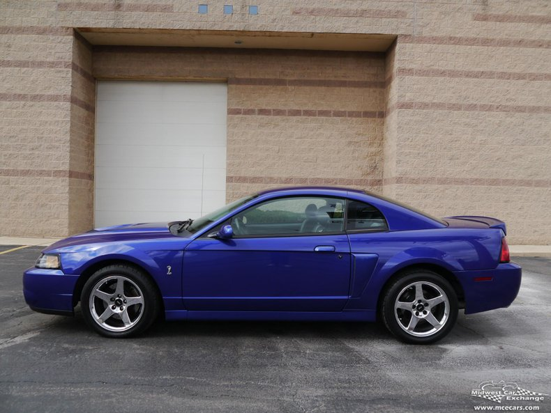 2003 ford mustang svt cobra coupe