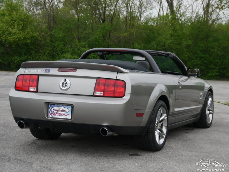 2009 ford mustang shelby gt500 convertible