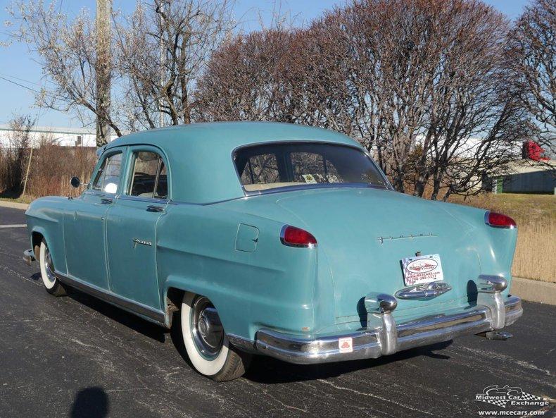1951 frazer series f51 4 door sedan