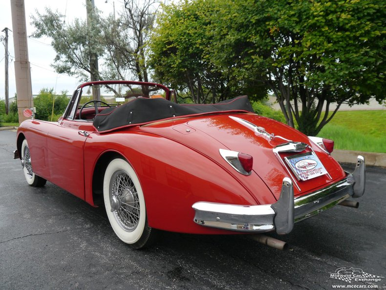 1958 jaguar xk150 drop head coupe