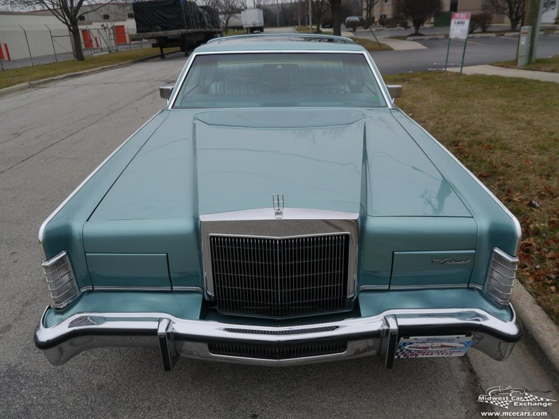 1979 lincoln continental 2 door hardtop coupe