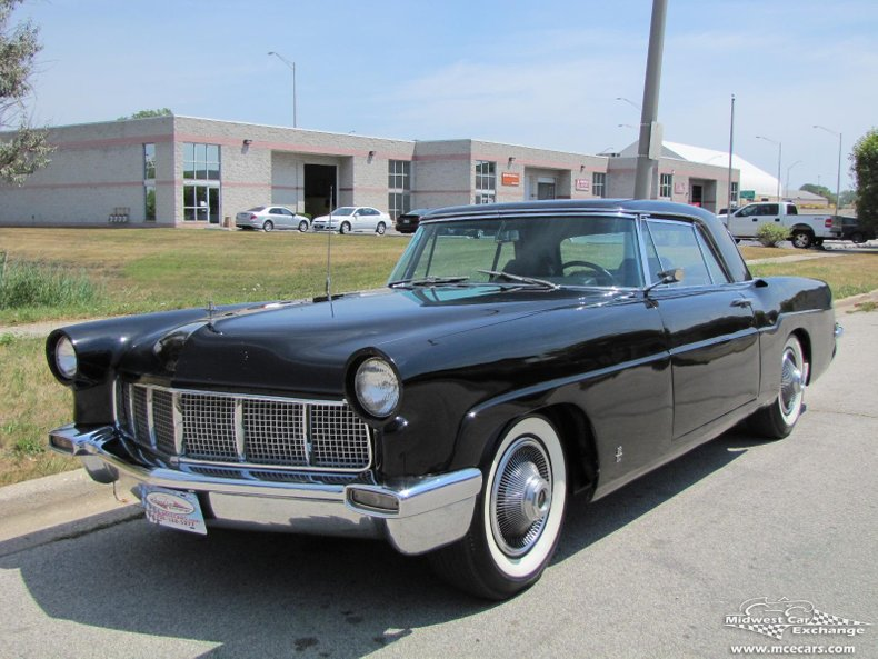 1956 lincoln mark ii 2 door sport coupe