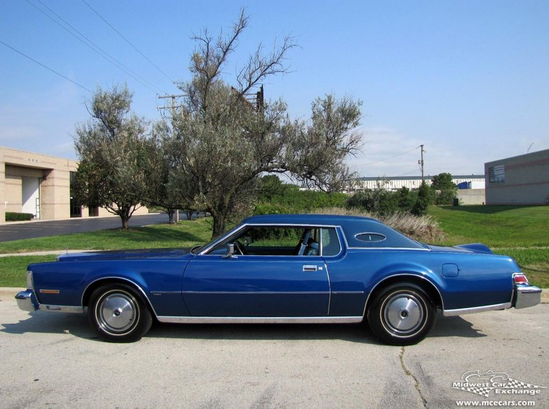 1974 lincoln mark iv 2 door hardtop coupe