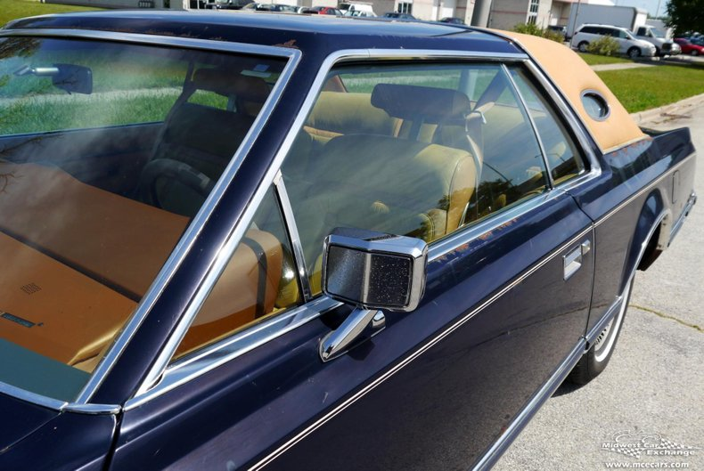 1977 lincoln mark v bill blass edition