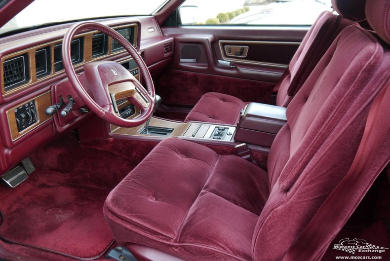 1989 lincoln mark vii bill blass edition