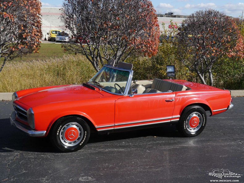 1967 mercedes benz 250sl california coupe