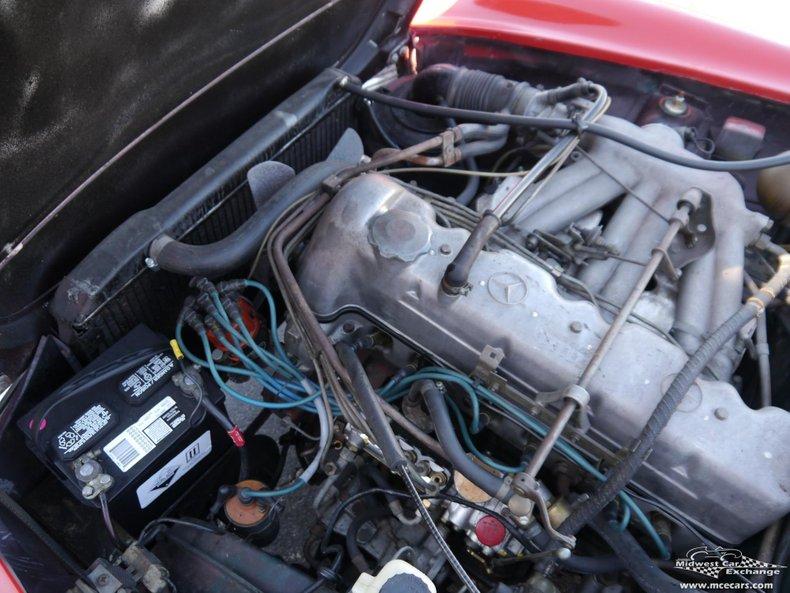 1967 mercedes benz 250sl california coupe