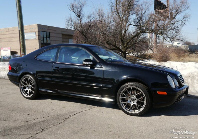 2001 Mercedes Benz CLK55