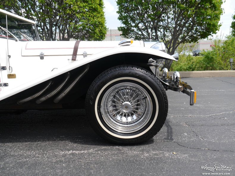 1929 mercedes benz ssk gazelle replicar