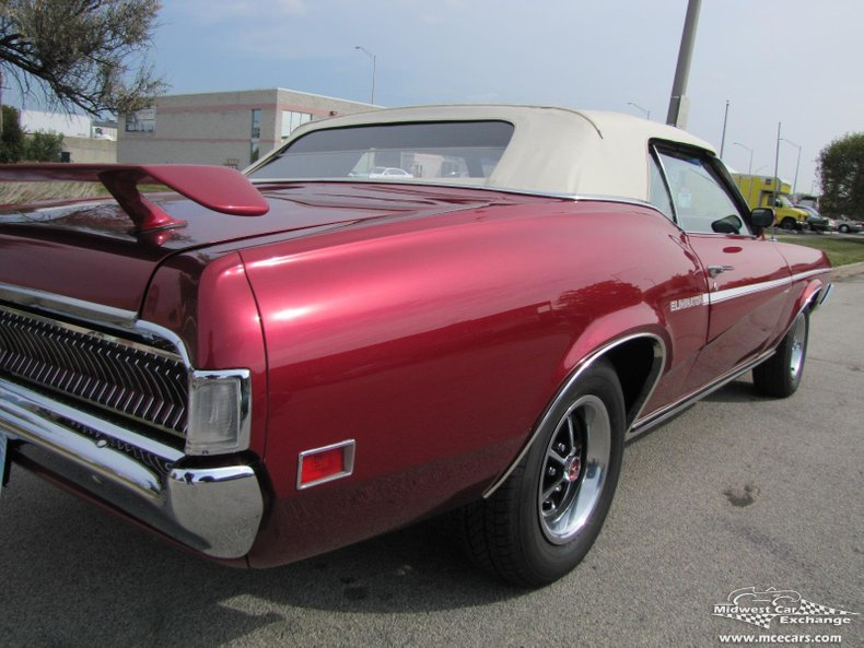 1969 mercury cougar xr 7 convertible