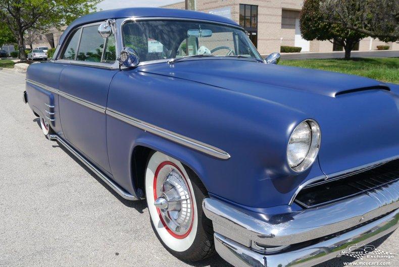 1954 mercury monterey custom 2 door hardtop