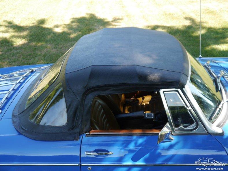 1976 mg b roadster