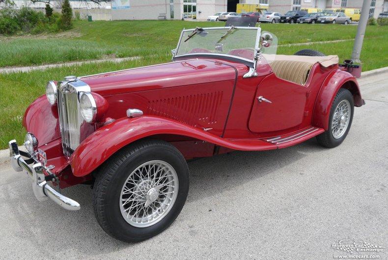 1952 mg td roadster