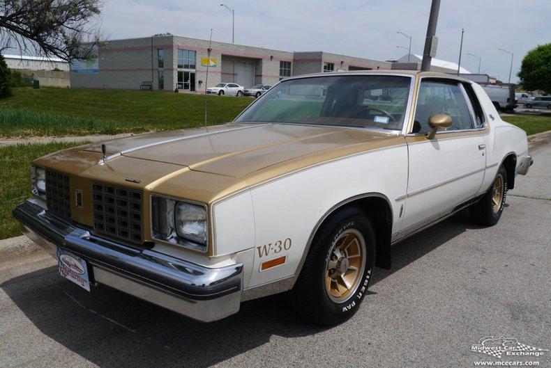 1979 oldsmobile cutlass calais hurst olds w30