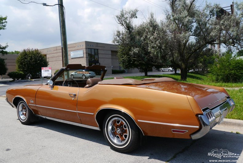 1972 oldsmobile cutlass supreme convertible