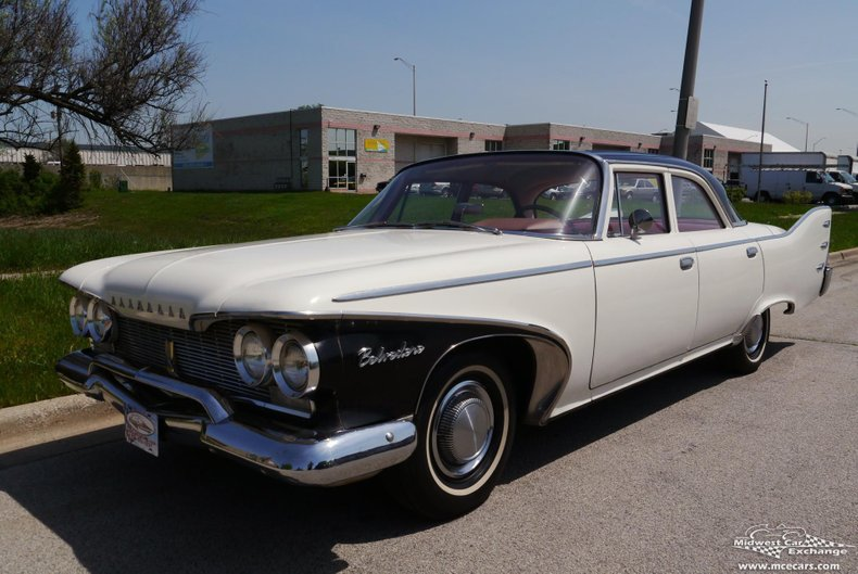 1960 plymouth belvedere 4 door sedan